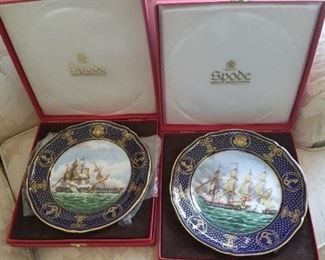 Spode plates