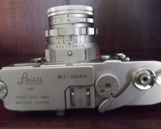 Leica M3 35mm Camera (top view)