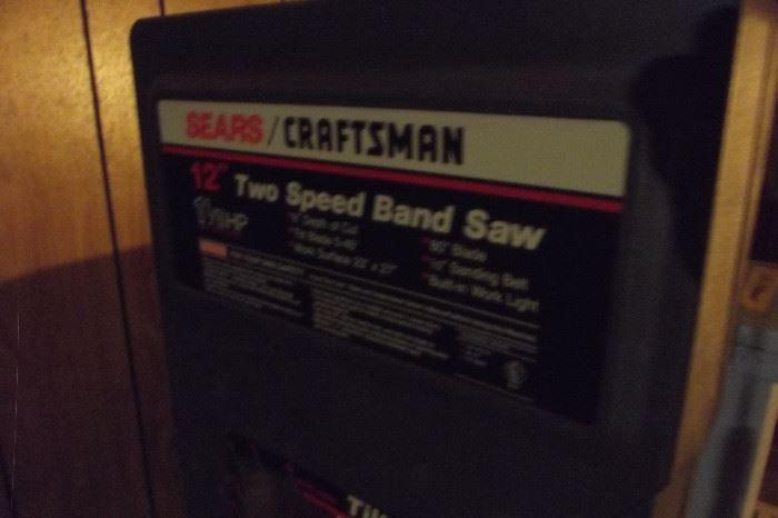 Craftsman 2 Speed Band Saw