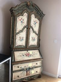 Hand Painted Furniture - desk
