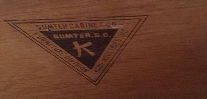 SUMTER CABINET CO. CORNER DESK UNIT