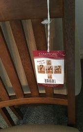 STAKMORE FOLDING CHAIR (4 AVAILABLE)