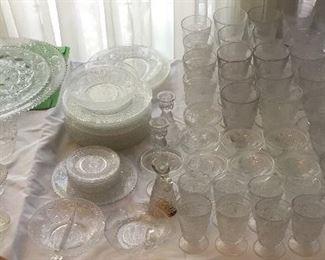 SANDWICH GLASS
