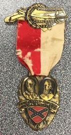 1929 U.C.V. REUNION RIBBON - CHARLOTTE, NC
