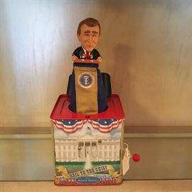 """""""HAIL TO THE CHIEF"""" IN THE BOX - G.W. BUSH"""