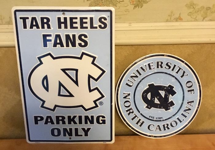 EMBOSSED UNC SIGNS