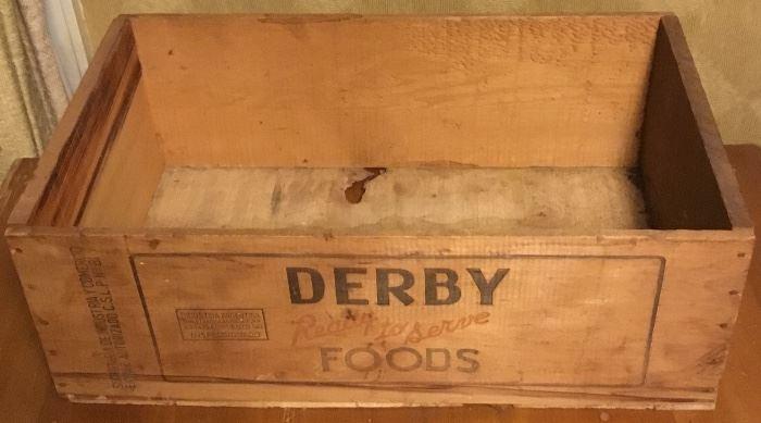 VINTAGE DERBY CORNED BEEF BOX