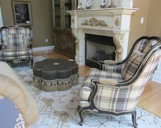 """PAIR OF MARGE CARSON """"MARGUERITE"""" CHAIRS"""