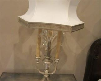 PAIR OF CRYSTAL LAMP BY FINE ARTS LAMPS