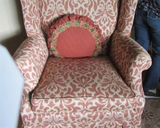 WE HAVE 2 OF THESE BEAUTIFUL UPHOLSTERED CHAIRS