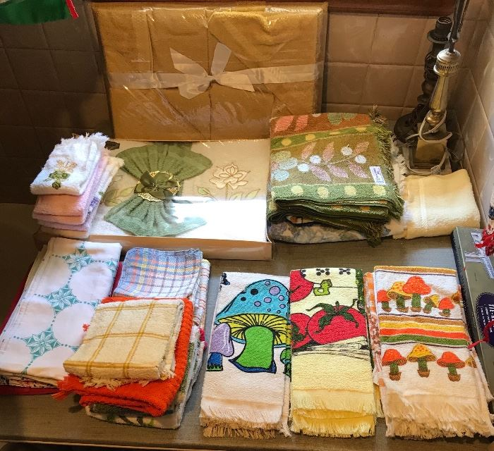 Vintage Towels and Linens
