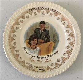 Kennedy Souvenir Plate