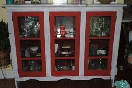 Glass Front cabinet - great size