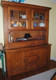 Broyhill Attic Heirlooms Oak China Hutch