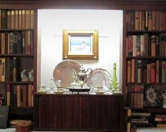 Books...Sterling...Silver Plate..Accessories.