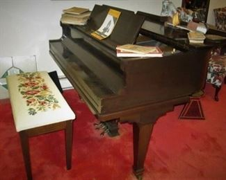 Ivers & Pond Baby Grand Piano