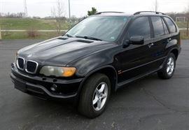 2003 BMW X5 3.0i Multipurpose Vehicle (MPV), 4 Door Wagon, AWD, L6, 3.0L, 142,563 Miles, VIN # 5UXFA535X3LV82170