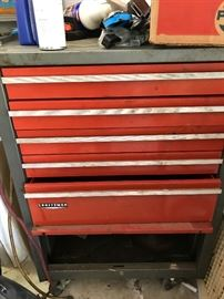 Craftsman Tool Case with wheels