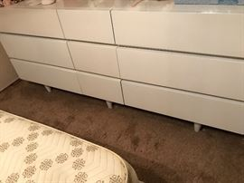 White Dresser that could be used as a TV stand