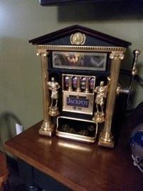 Antique Ceasars Slot Machine $80