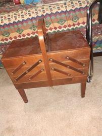 BEAUTIFUL sewing box