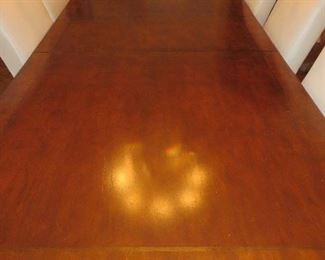DINING TABLE WITH CABRIOLE LEGS