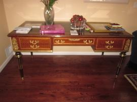 French Leather Top Writing Desks