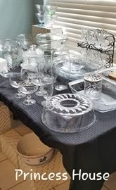 Princess House Glass Ware