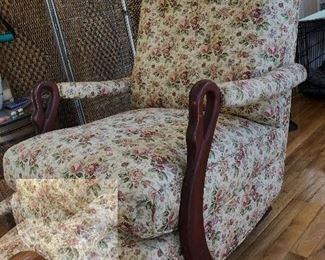Goose neck rocker excellent condition