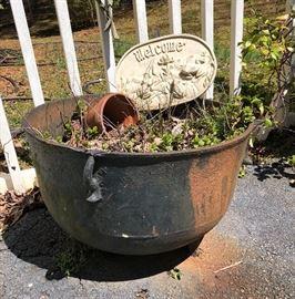 Cast iron pot!