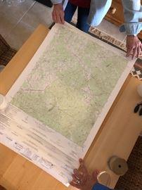 Large trail maps