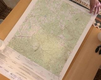 Large trail maps