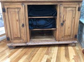 Pine 2 door chest/cabinet