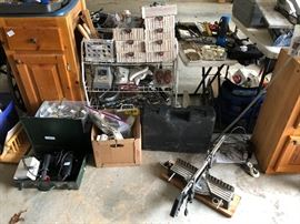 Tools, cabinets and more!
