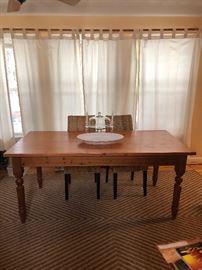 Beautiful English Pine Table!