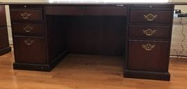 National Office Furniture Co. desk, 1 of 3 pieces