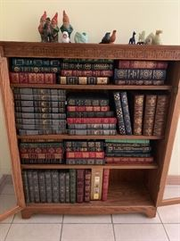 Collection of Easton Press Leather Books - Excellent Condition and some signed!