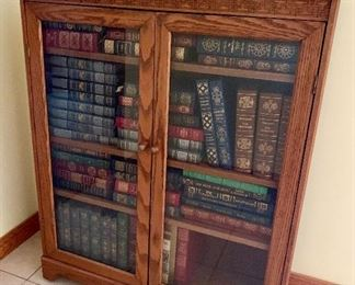 Beautiful Cabinet can be used for books, collectible or practically anything! including Astronaut Collection