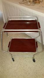 Bakelite RolaTable      Rare Vintage Bar Cart           Removable Trays