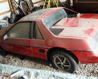 1985 Pontiac Fiero Passenger Car, VIN # 1G2PF3797FP254392