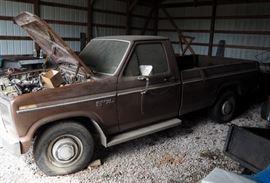 1981 Ford F-250 Pickup Truck, VIN # 1FTHF25G9BKA15395