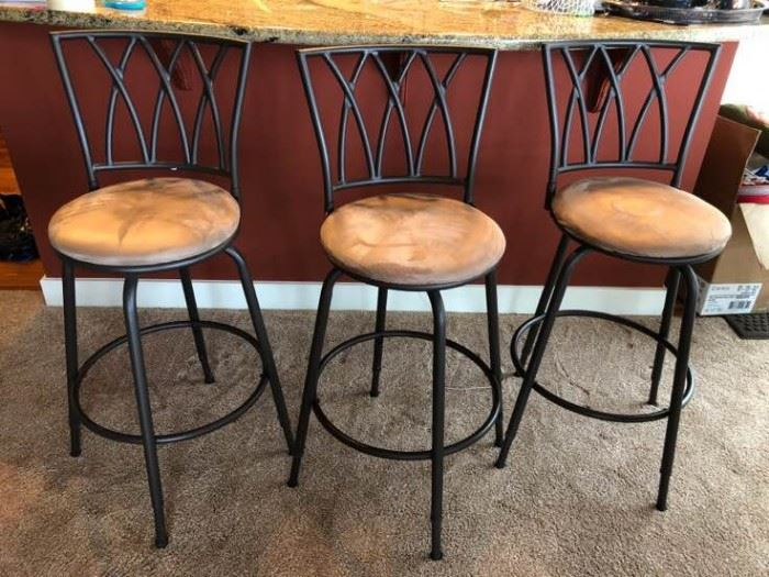 A Trio of Barstools