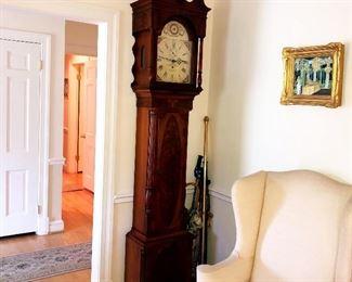 "Franklin Heritage Furniture ""Jefferson Grandfather Clock"""