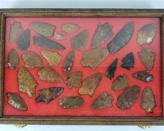Native American Artifacts- River Polished Points