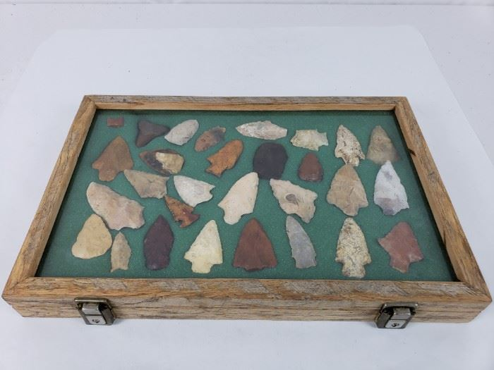 Native American Artifacts- Points, Blades, and Tooth