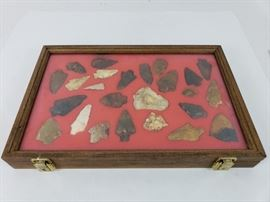 Native American Artifacts- River Polished and Field Points