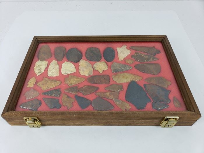 Native American Artifacts- Polished and Field Points