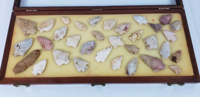 Native American Artifacts- Field Points
