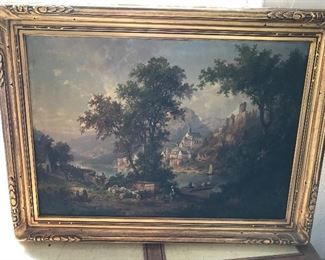 Listed artist Hermann Bennekenstein b.1830-1890