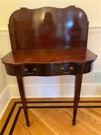 """1. Flip Top Game Table (36"""" x 18"""" x 30"""")"""